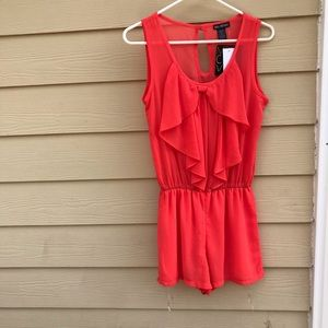 Miss  Chevous sleeveless Romper  women sz S